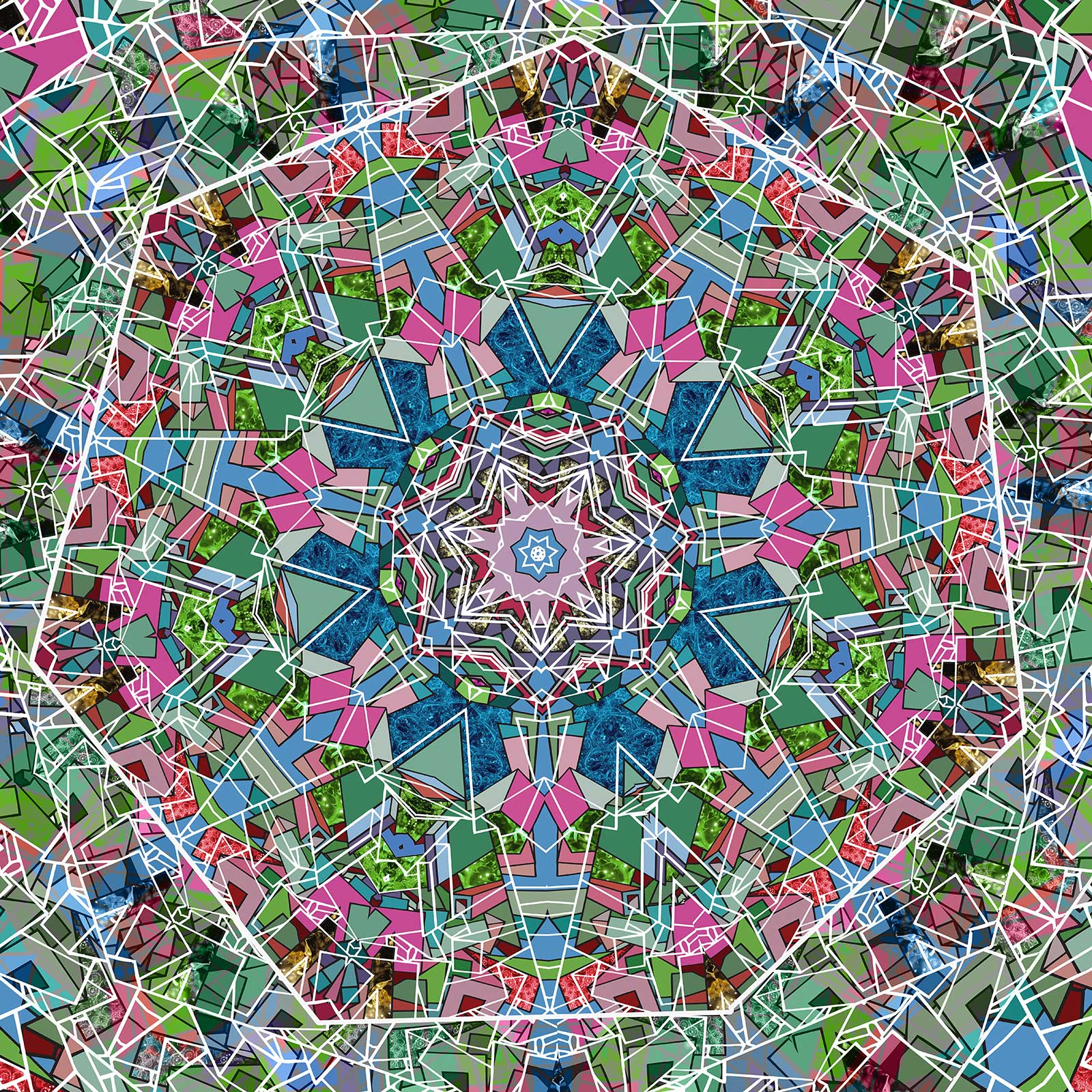Transient Mandala   © Dex Hannon - All rights reserved